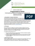 Program Ad or Senior