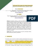 Análisis crítico del devenir del concepto de trabajo inmaterial. Lucero y Gonzalez