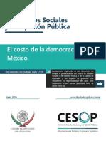 CESOP IL 14 DT219ElCostosDeLaDemocracia 160628