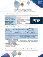 Guía de actividades y rúbrica de evaluación Fase 3 - Diseño