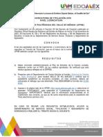 Upvm PDF Convocatoria Titulacion Licenciatura