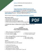 Soal UAS Bahasa Inggris Kelas 9 SMP MTs Semester Ganjil