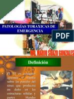 Patologia Toraxica de Emergencia Cirugia