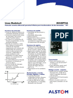 Modulo de Protección MX3DPT3A