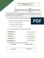 evaluacion castellano