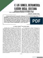 La Dinastia de Los Somoza, Iberoamerica v La Revolucion Social Cristiana