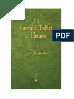 Emeral Tablet of Hermest Trismegisto