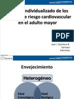 Dr. Juan I. Quintero B Manejo Individualizado de Los Factores de Riesgo Cardiovascular en El Adulto Mayor (1)