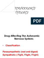Drugs Affecting the ANS Only (2)