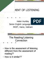 [123doc] Assessment of Listening