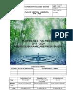 3.Plan de Gestión Ambiental 2017-2020
