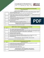 Programa Calendario Sem 2017-1 Mat 1-Economia-UCV (UNIVERSIDAD CENTRAL DE VENEZUELA)