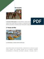 Fiestas Region Caribe 2