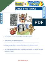 Culturas Pre Incas Del Perú Para Tercer Grado de Primaria