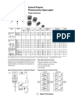 Agilent Optocoupler Selection Guide