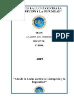 ANALIS DE ENTORNO