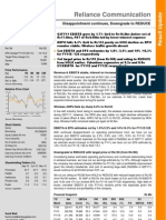Reliance Communication Q2FY11 Result Update