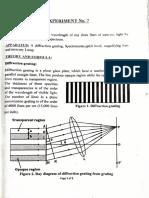 Experiment 7 Physics btech