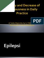 Epilepsi Dan Koma Sakinah 2019