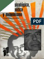 Accion Psicologica Praxis Politica y Menemismo
