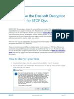 Emisoft Ransomware Handle