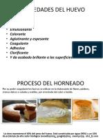 Proceso Del Horneado