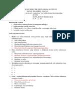 Soal Uts Humas Protokol Kelas Xi AP