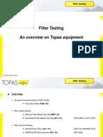 Filter Testing - ToPAS
