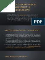4.4 Sistema Dupont Para El Análisis de La Rentabilidad