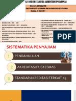 PPT STANDAR AKREDITASI TERKAIT K3.ppt