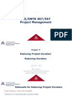 Chapter 9 Reducing Project Duration - Reducing Duration