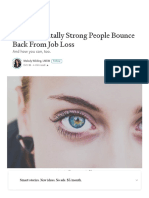 6 Ways Mentally Strong People Bounce Back From Job Loss