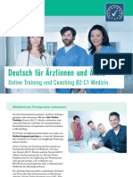 Broschuere Online-training Coaching
