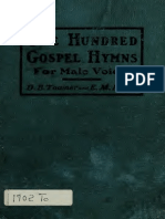 One Hundred Gospel Hymns for All-Male