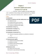 BAN504 Flight Mechanics Unit v Notes