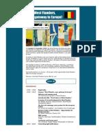 Seminar West Flanders Gateway to Europe - Invitation