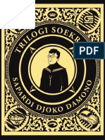 Trilogi Soekram - Sapardi Djoko Damono