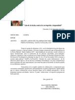 OFICIOS PATRONALES