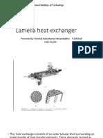 Lamella Heat Exchanger