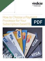 Vindicia - Payment Processor