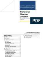 ISO 9001 2015 Transitioning Planning Sample