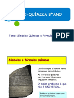 Simbolos e Fórmulas