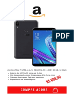 Zenfone Max Pro M1, ASUS, ZB602KL-4A110BR, 32 GB, 6, Black Bateria de 5000mAh para até 2 dias Alto desempenho com Snapdragon 636 Octa-core Câmera dupla para Retratos perfeitos Experiência de Android puro.pdf