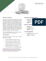 Indoor Air Quality Sensor