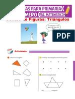 Conteo de Triángulos Para Niños Para Primero de Primaria