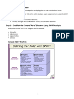 Generic Edittable Action Planning SWOT and MOST Worksheets1