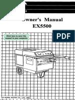 EX5500 Manual
