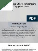 Cryogenic Tank Presentation