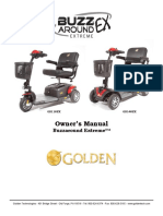 Golden Owners Manual - Buzzaround Extreme EX GB118