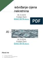 AI - Predviđanje Cijena Nekretnina